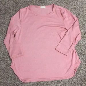 NWT soft pink Bobbie Brooks sweater